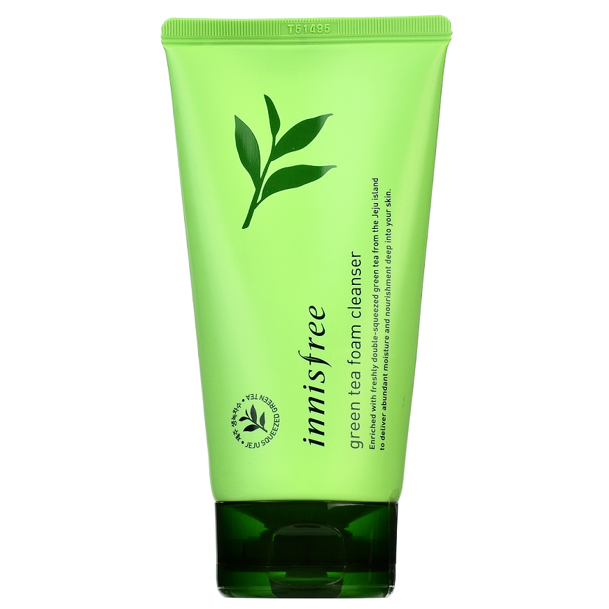 INNISFREE Green Tea Foam Cleanser | Shop Innisfree in Canada & USA at Chuusi.ca