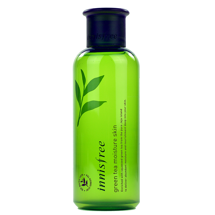 Innisfree - Green Tea Moisture Skin Toner | Chuusi | Shop Korean and Taiwanese Cosmetics & Skincare at Chuusi.ca