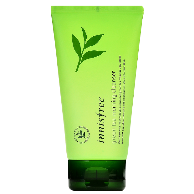 INNISFREE Green Tea Morning Cleanser | Shop Innisfree Korean skincare cosmetics in Canada & USA at Chuusi.ca
