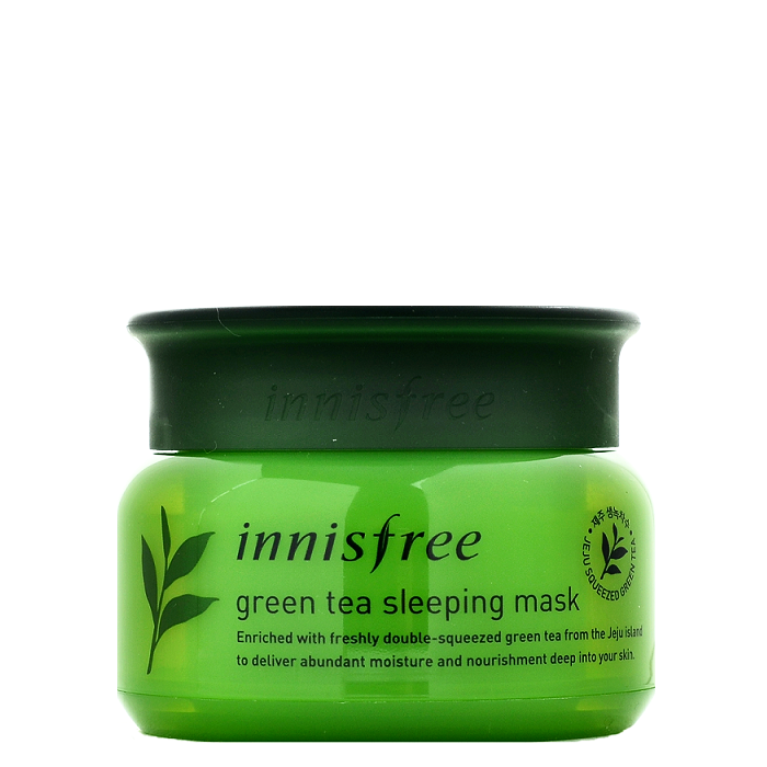 INNISFREE Green Tea Sleeping Mask | Shop Innisfree Korean skincare cosmetics in Canada & USA at Chuusi.ca