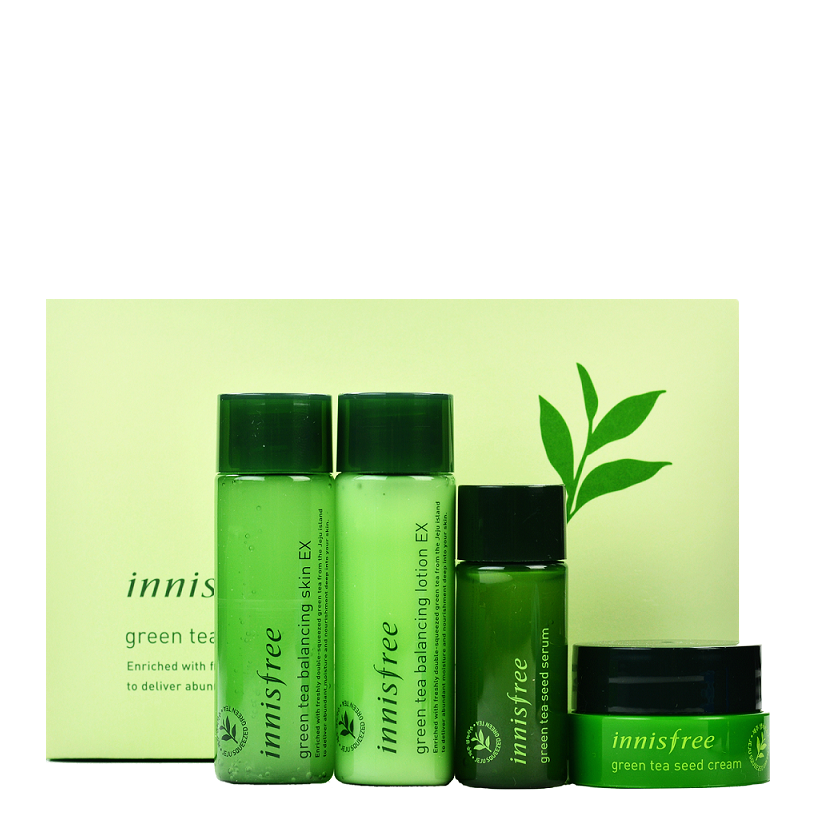 INNISFREE Green Tea Special Kit EX | Shop Innisfree in Canada & USA at Chuusi.ca