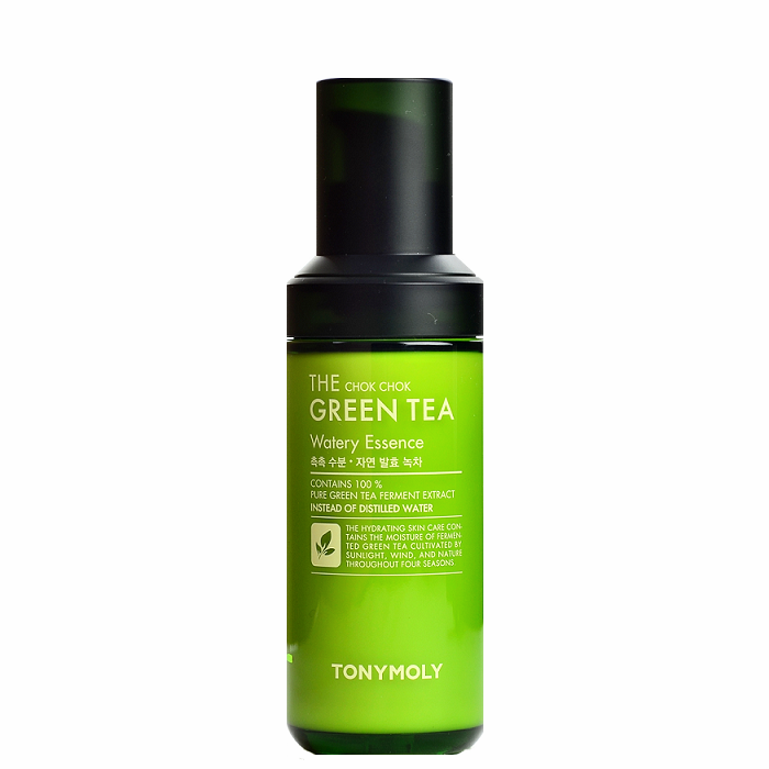 TONY MOLY The Chok Chok Green Tea Watery Essence | Shop Tony Moly Korean skincare cosmetics in Canada & USA at Chuusi.ca