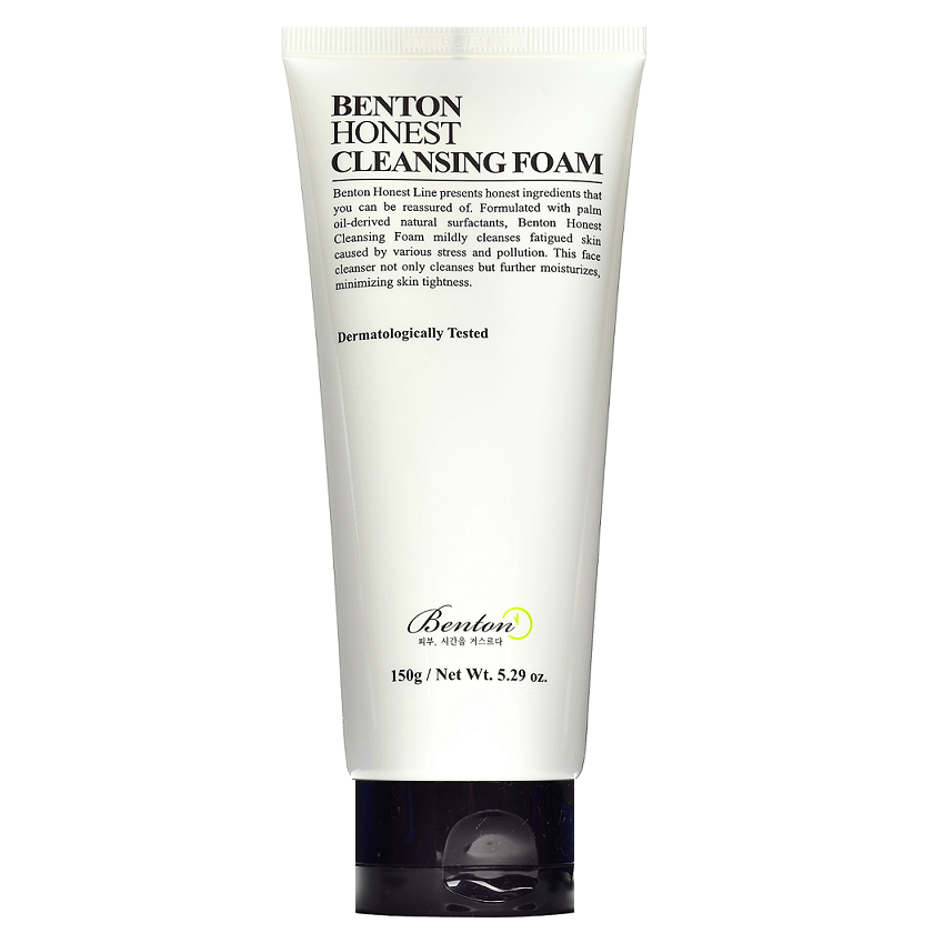 BENTON Honest Cleansing Foam | Shop Benton Korean skincare cosmetics in Canada & USA at Chuusi.ca