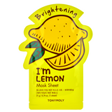Tony Moly I'm Lemon Mask Sheet -- Shop Korean Japanese Taiwanese skincare in Canada & USA at Chuusi.ca