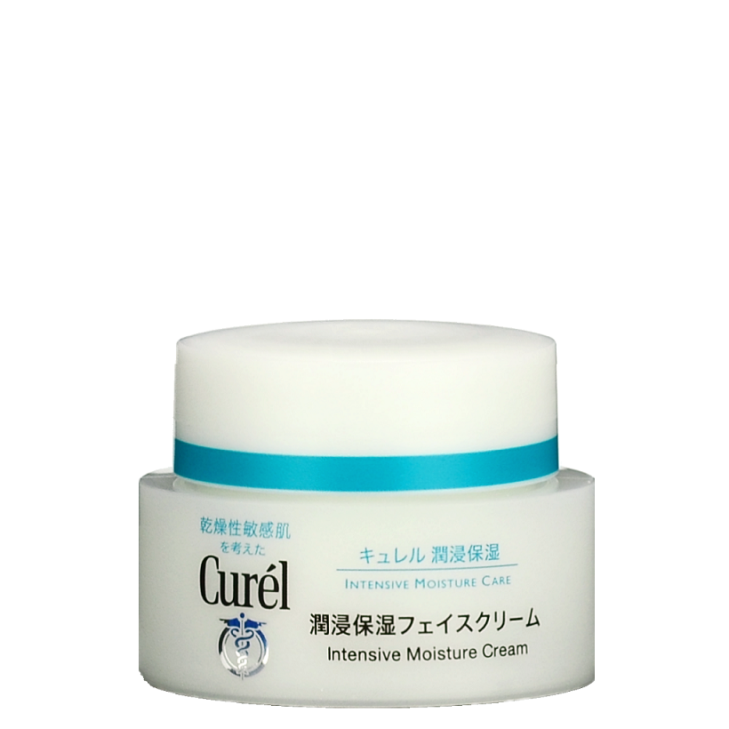 KAO CURÉL Intensive Moisture Cream -- Shop Korean Japanese Taiwanese Beauty in Canada & USA at Chuusi.ca