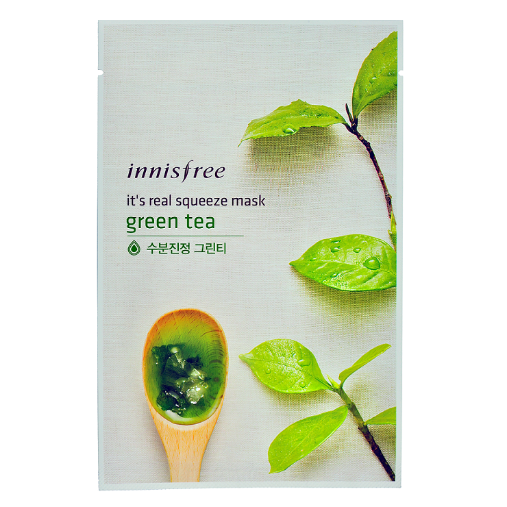 Innisfree - It's Real Squeeze Mask | Chuusi | Shop Korean and Taiwanese Cosmetics & Skincare at Chuusi.ca - 7
