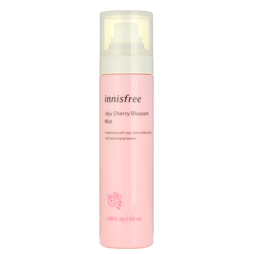 INNISFREE Jeju Cherry Blossom Mist -- Shop Korean Japanese Taiwanese skincare in Canada & USA at Chuusi.ca