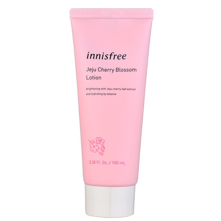 INNISFREE Jeju Cherry Blossom Lotion -- Shop Korean Japanese Taiwanese Skincare in Canada & USA at Chuusi.ca