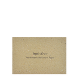 Innisfree Jeju Volcanic Oil Control Paper -- Shop Korean Japanese Taiwanese skincare in Canada & USA at Chuusi.ca