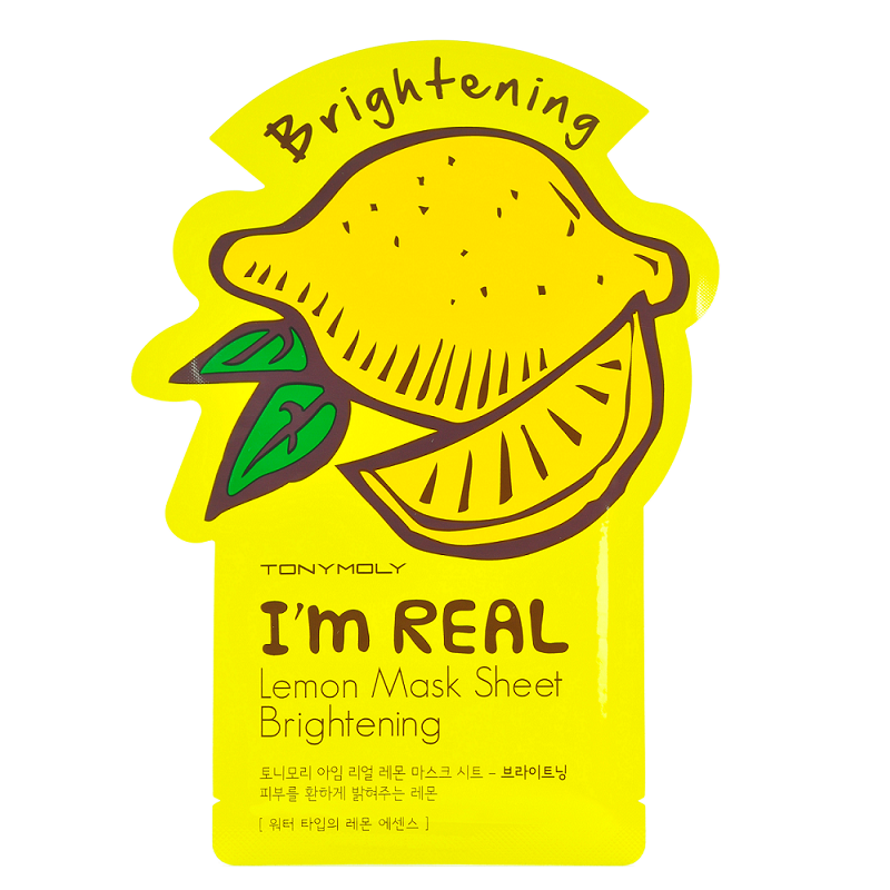 Tony Moly - I'm Real Mask Sheet | Chuusi | Shop Korean and Taiwanese Cosmetics & Skincare at Chuusi.ca - 5
