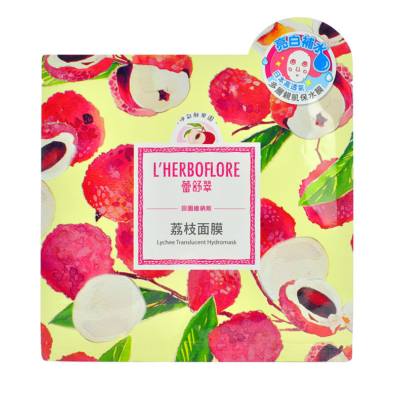 L'Herboflore - Garden of Venus: Lychee Translucent Hydromask | Chuusi | Shop Korean and Taiwanese Cosmetics & Skincare at Chuusi.ca