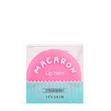 IT'S SKIN Macaron Lip Balm - Strawberry | Shop It's Skin Korean skincare cosmetics in Canada & USA at Chuusi.ca