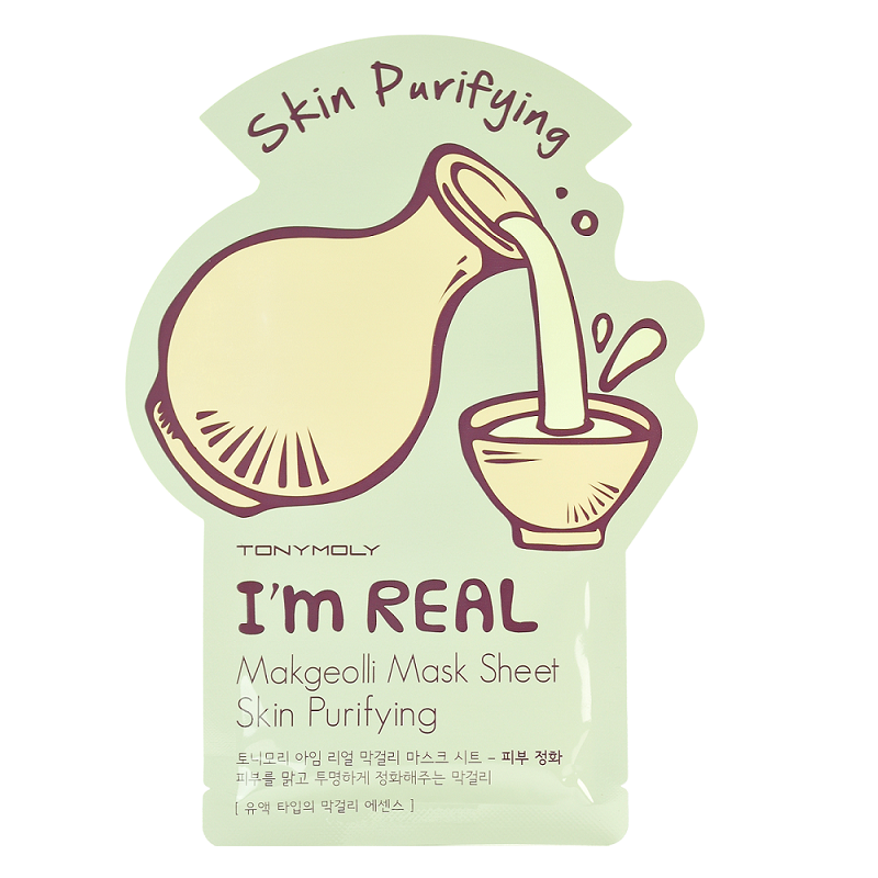 Tony Moly - I'm Real Mask Sheet | Chuusi | Shop Korean and Taiwanese Cosmetics & Skincare at Chuusi.ca - 6