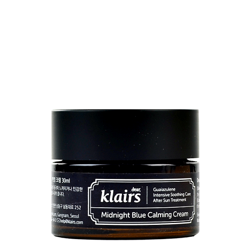 KLAIRS Midnight Blue Calming Cream | Canada & USA | Chuusi