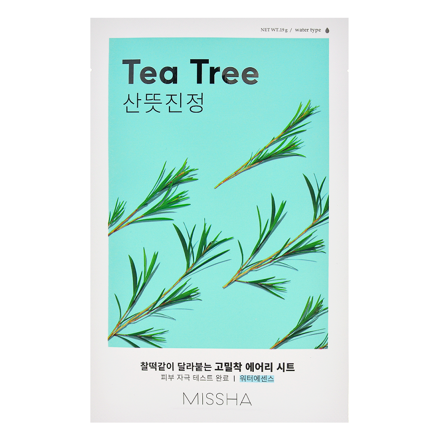 MISSHA Airy Fit Sheet Mask - Tea Tree | Shop Korean Skincare in Canada & USA at Chuusi.ca