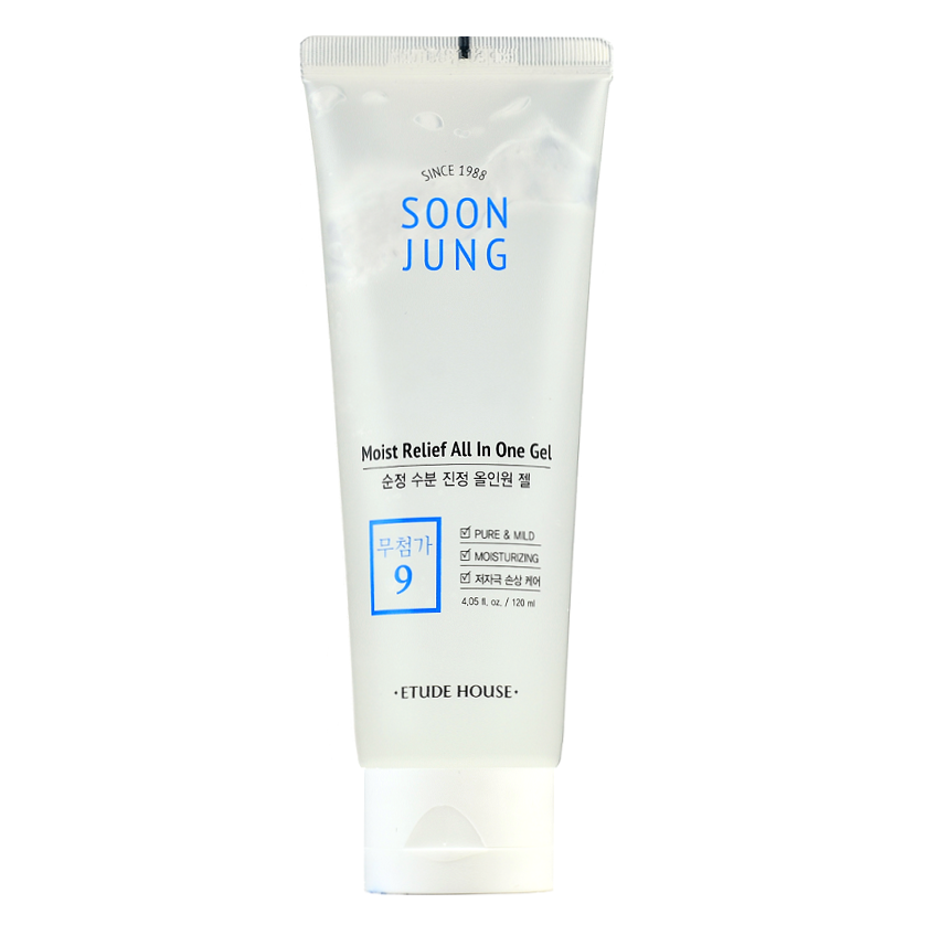 ETUDE HOUSE SoonJung Moist Relief All In One Gel | Shop Etude House in Canada & USA at Chuusi.ca