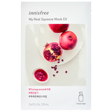 Innisfree My Real Squeeze Mask EX - Pomegranate -- Shop Korean Japanese Taiwanese skincare in Canada & USA at Chuusi.ca