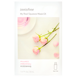 INNISFREE My Real Squeeze Mask EX - Rose -- Shop Korean Japanese Taiwanese Sheet Mask in Canada & USA at Chuusi.ca