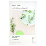 INNISFREE My Real Squeeze Mask EX - Tea Tree -- Shop Korean Japanese Taiwanese Skincare in Canada & USA at Chuusi.ca
