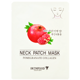SKINFOOD Pomegranate Collagen Neck Patch Mask | Shop Skinfood Korean skincare in Canada & USA at Chuusi.ca