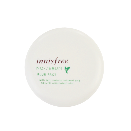 Innisfree - No Sebum Blur Pact | Chuusi | Shop Korean and Taiwanese Cosmetics & Skincare at Chuusi.ca - 1