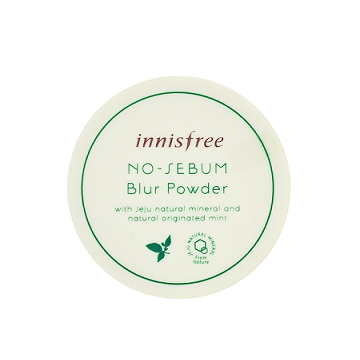 Innisfree - No Sebum Blur Powder | Chuusi | Shop Korean and Taiwanese Cosmetics & Skincare at Chuusi.ca
