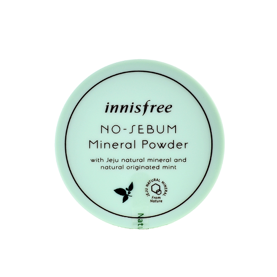 Innisfree - No Sebum Mineral Powder | Chuusi | Shop Korean and Taiwanese Cosmetics & Skincare at Chuusi.ca