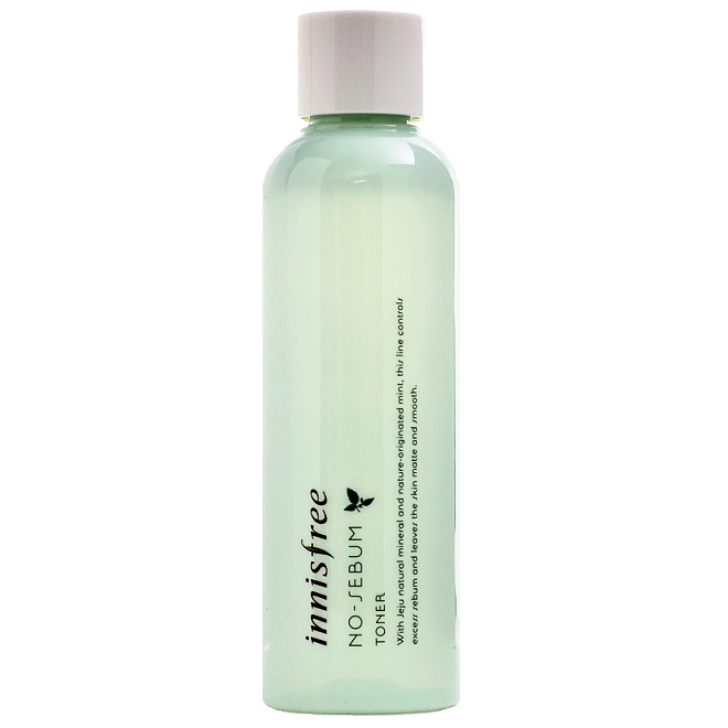 INNISFREE No-Sebum Toner | Shop Innisfree Korean skincare cosmetics in Canada & USA at Chuusi.ca