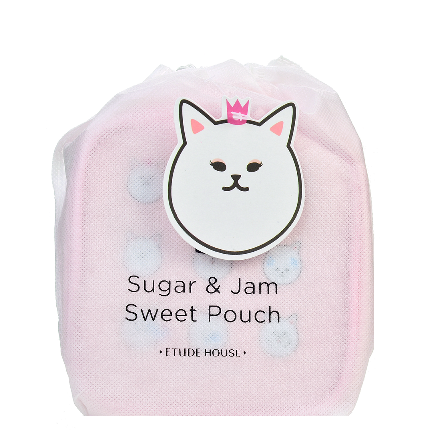 ETUDE HOUSE Sugar&Jam Sweet Pouch (S) - Pink | Shop Etude House in Canada & USA at Chuusi.ca