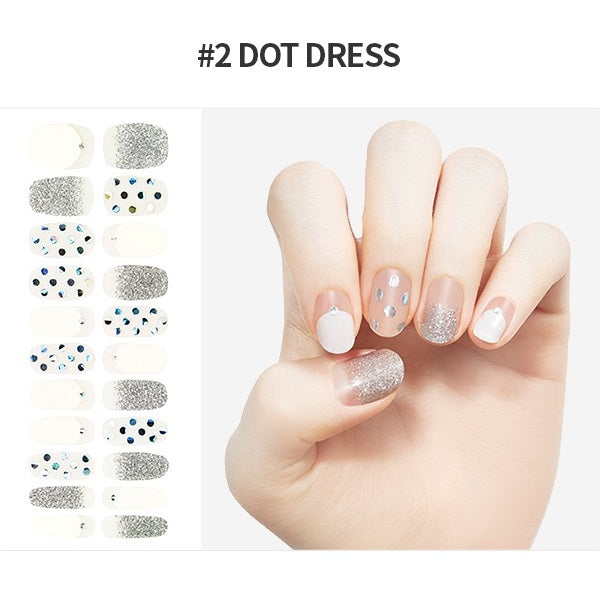 Etude House Play Nail Sticker Full Tip - No. 02 Dot Dress -- Shop Korean Japanese Taiwanese skincare in Canada & USA at Chuusi.ca