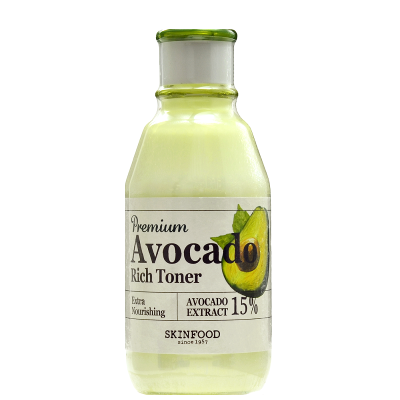 SKINFOOD Premium Avocado Rich Toner | Shop Skinfood Korean skincare in Canada & USA at Chuusi.ca