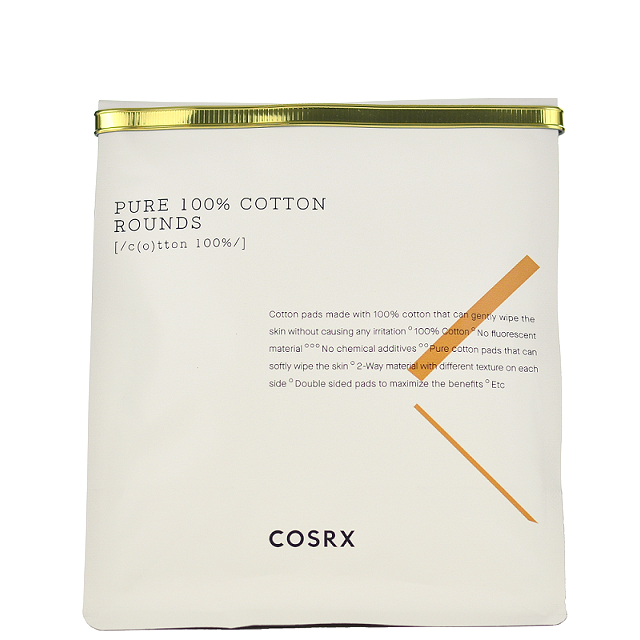 COSRX Pure 100% Cotton Rounds -- Shop Korean Japanese Taiwanese Skincare in Canada & USA at Chuusi.ca