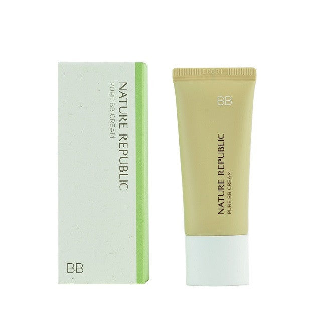 Nature Republic - Pure BB Cream | Chuusi | Shop Korean and Taiwanese Cosmetics & Skincare at Chuusi.ca - 2