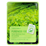 Tony Moly - Pureness 100 Green Tea Mask Sheet | Chuusi | Shop Korean and Taiwanese Cosmetics & Skincare at Chuusi.ca