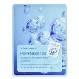 Tony Moly - Pureness 100 Hyaluronic Acid Mask Sheet | Chuusi | Shop Korean and Taiwanese Cosmetics & Skincare at Chuusi.ca