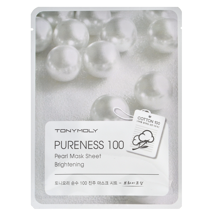 Tony Moly - Pureness 100 Pearl Mask Sheet | Chuusi | Shop Korean and Taiwanese Cosmetics & Skincare at Chuusi.ca