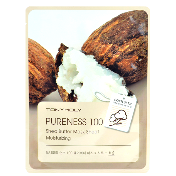 Tony Moly - Pureness 100 Shea Butter Mask Sheet | Chuusi | Shop Korean and Taiwanese Cosmetics & Skincare at Chuusi.ca