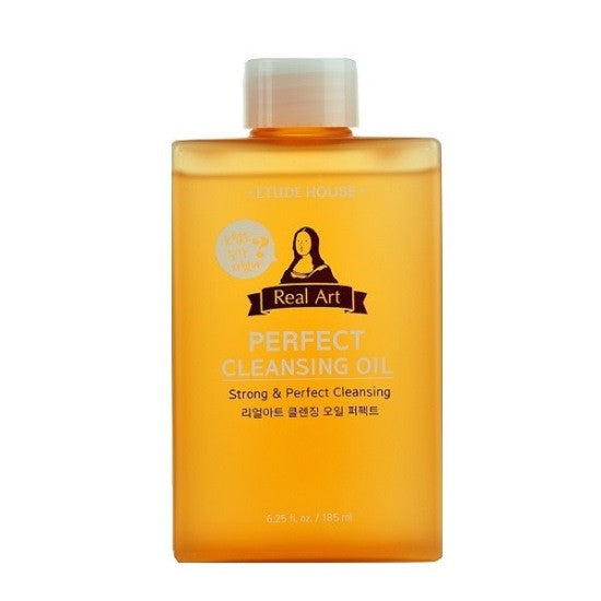 Etude House - Real Art Perfect Cleansing Oil - Strong and Perfect Cleansing | Chuusi | Shop Korean and Taiwanese Cosmetics & Skincare at Chuusi.ca - 1