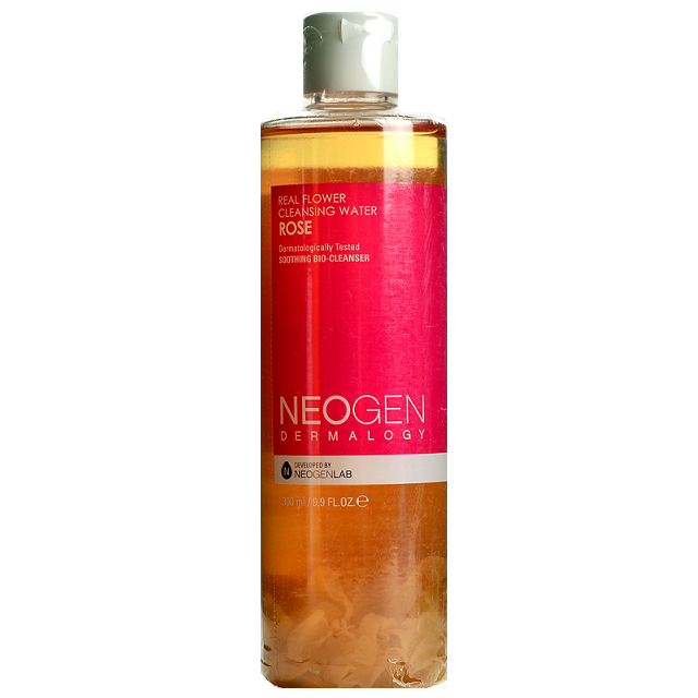 NEOGEN Real Flower Cleansing Water Rose | Shop Neogen Korean skincare cosmetics in Canada & USA at Chuusi.ca