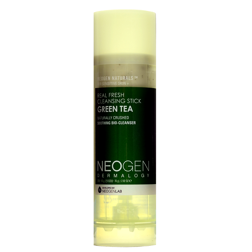 NEOGEN Real Fresh Cleansing Stick Green Tea | Shop Neogen Korean skincare cosmetics in Canada & USA at Chuusi.ca