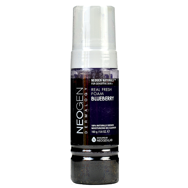 NEOGEN Real Fresh Foam Blueberry | Shop Neogen Korean skincare cosmetics in Canada & USA at Chuusi.ca