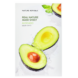 NATURE REPUBLIC Real Nature Mask Sheet - Avocado | Shop Korean Sheet Masks in Canada & USA at Chuusi.ca