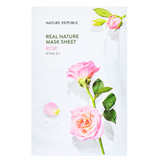 NATURE REPUBLIC Real Nature Mask Sheet - Rose | Shop Korean Sheet Masks in Canada & USA at Chuusi.ca