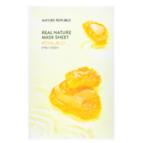 NATURE REPUBLIC Real Nature Mask Sheet - Royal Jelly | Shop Korean Sheet Masks in Canada & USA at Chuusi.ca