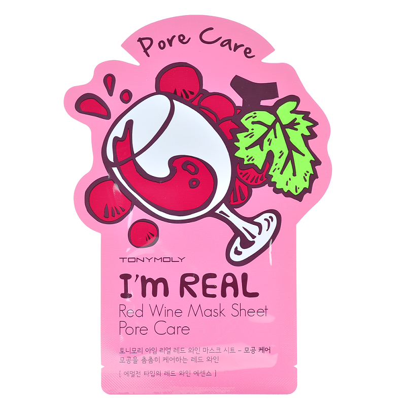Tony Moly - I'm Real Mask Sheet | Chuusi | Shop Korean and Taiwanese Cosmetics & Skincare at Chuusi.ca - 12