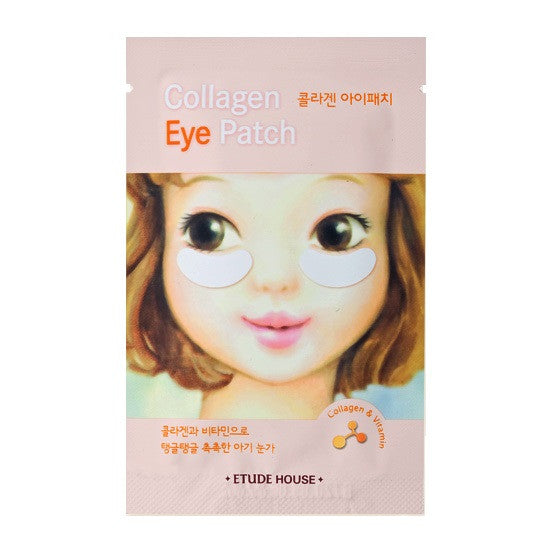 Etude House - Collagen Eye Patch | Chuusi | Shop Korean and Taiwanese Cosmetics & Skincare at Chuusi.ca