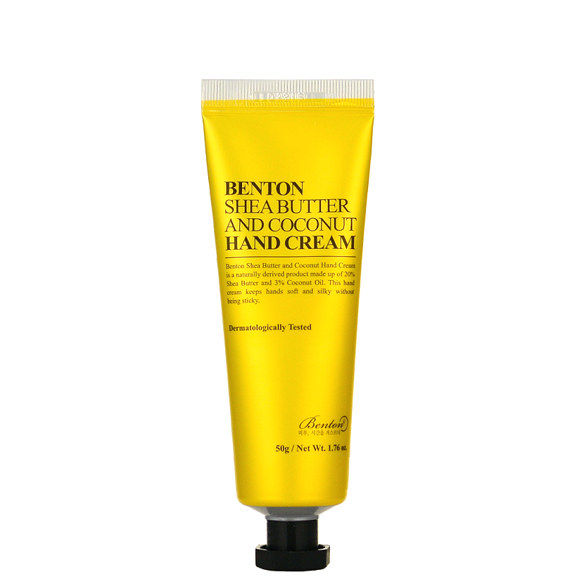 BENTON Shea Butter and Coconut Hand Cream | Shop Korean Japanese Taiwanese beauty in Canada & USA at Chuusi.ca