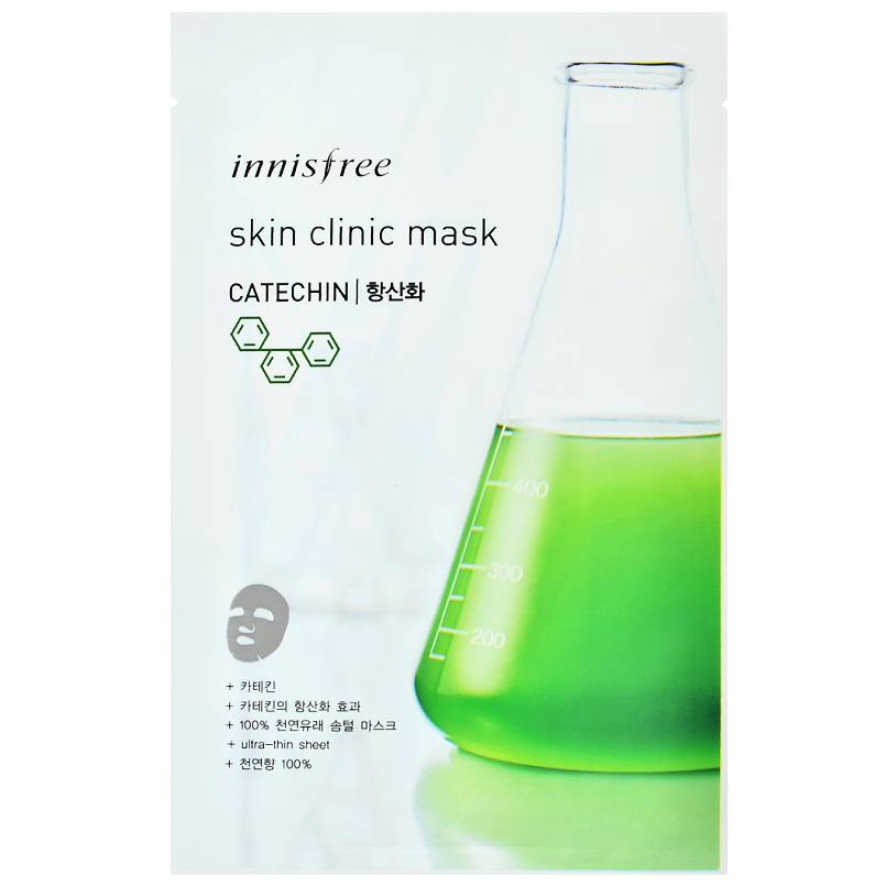 INNISFREE Skin Clinic Mask - Catechin | Shop Innisfree in Canada & USA at Chuusi.ca