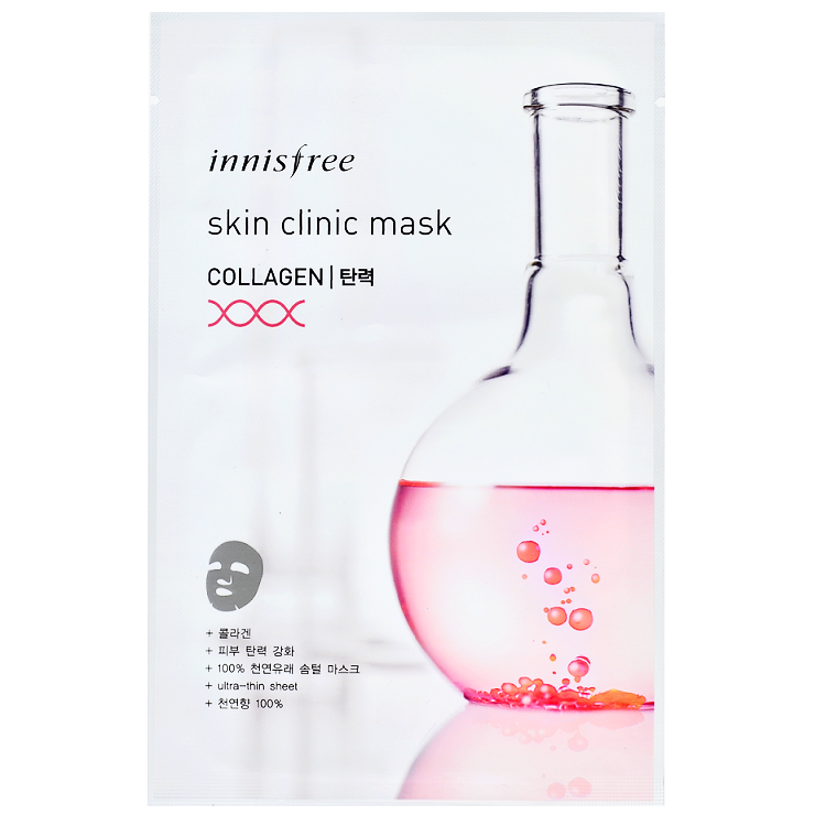 INNISFREE Skin Clinic Mask - Collagen | Shop Innisfree in Canada & USA at Chuusi.ca