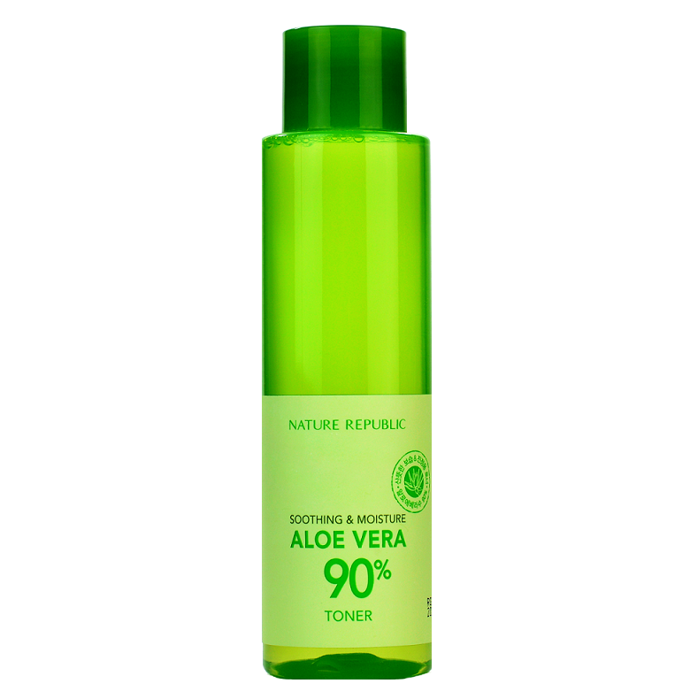NATURE REPUBLIC Soothing & Moisture Aloe Vera 90% Toner | Shop Nature Republic in Canada & USA at Chuusi.ca